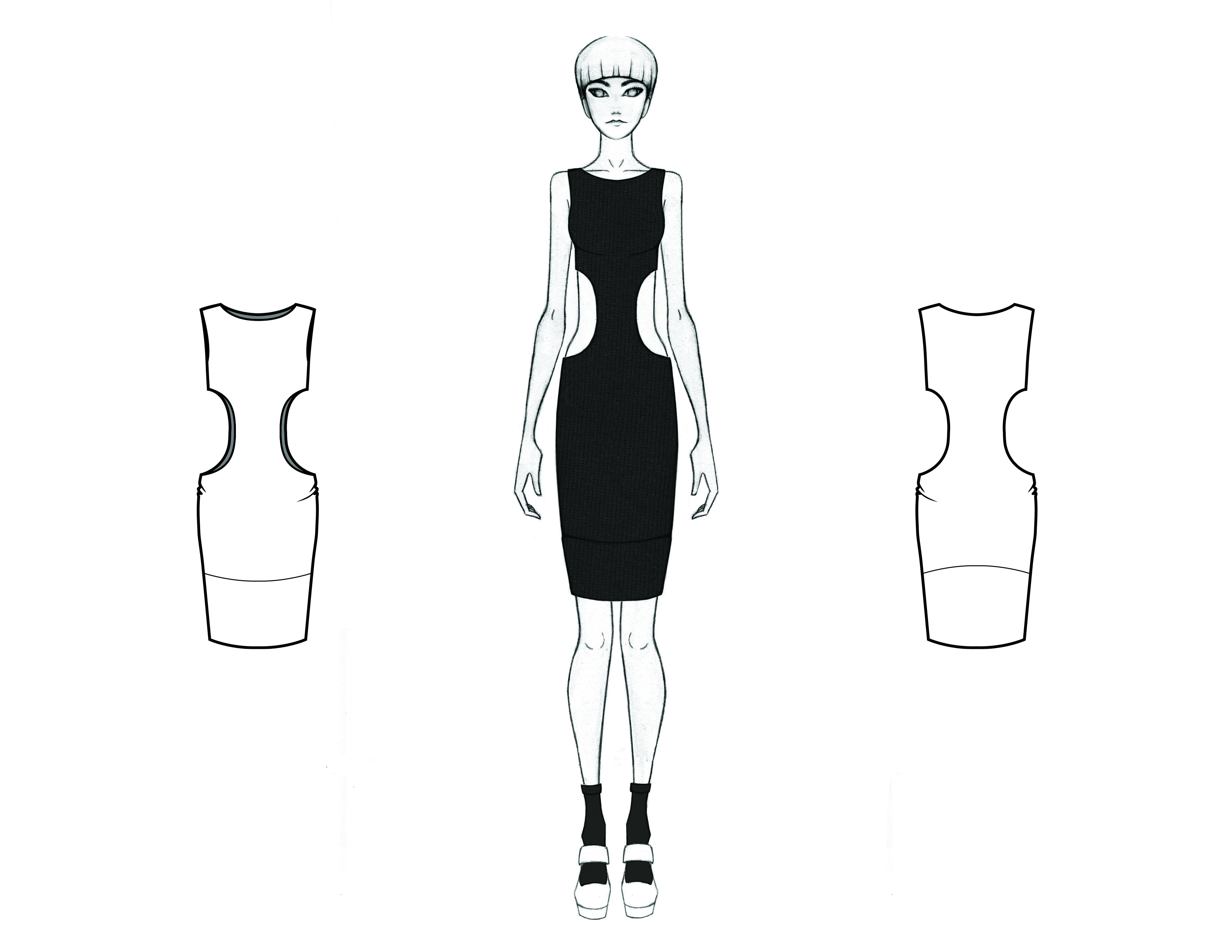 MGHN Capsule Look 13 Illustration and Flats