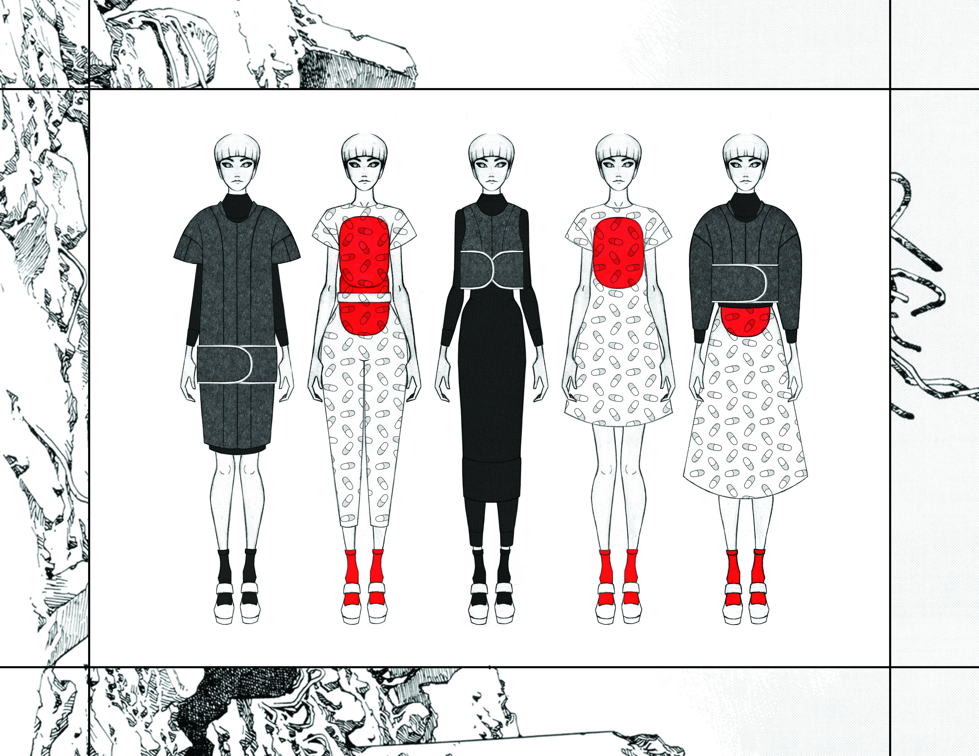 MGHN | Capsule Collection Overview | Looks 1-5
