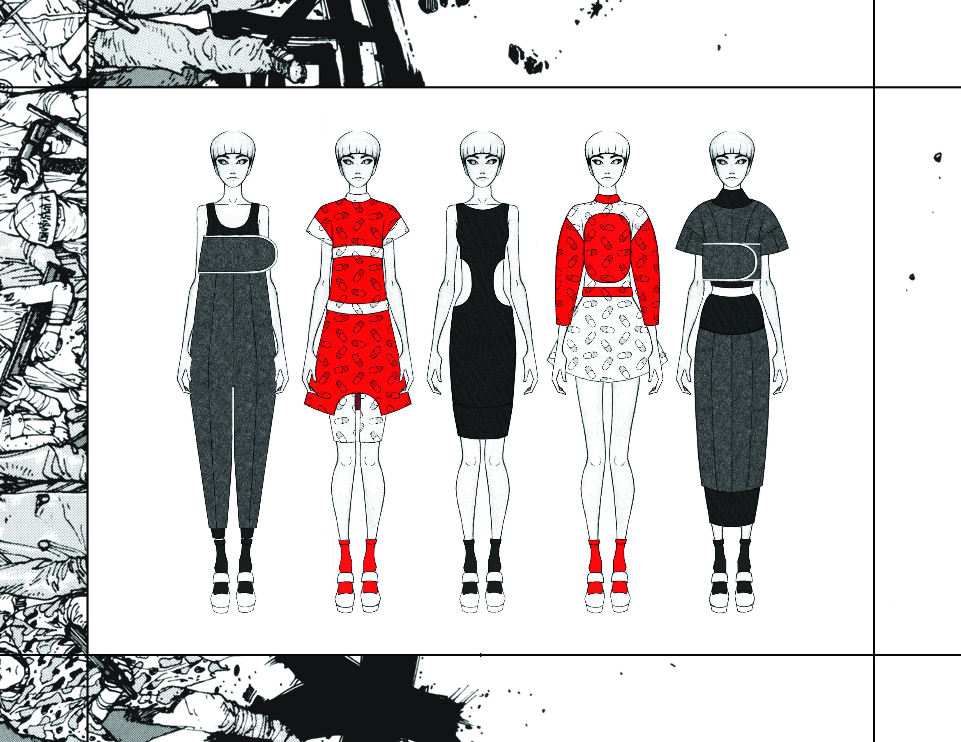 MGHN | Capsule Collection Overview | Looks 11 - 15
